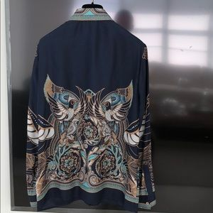 fa1d81e635445d Versace Tops - Versace silk blouse shirt size 42 S